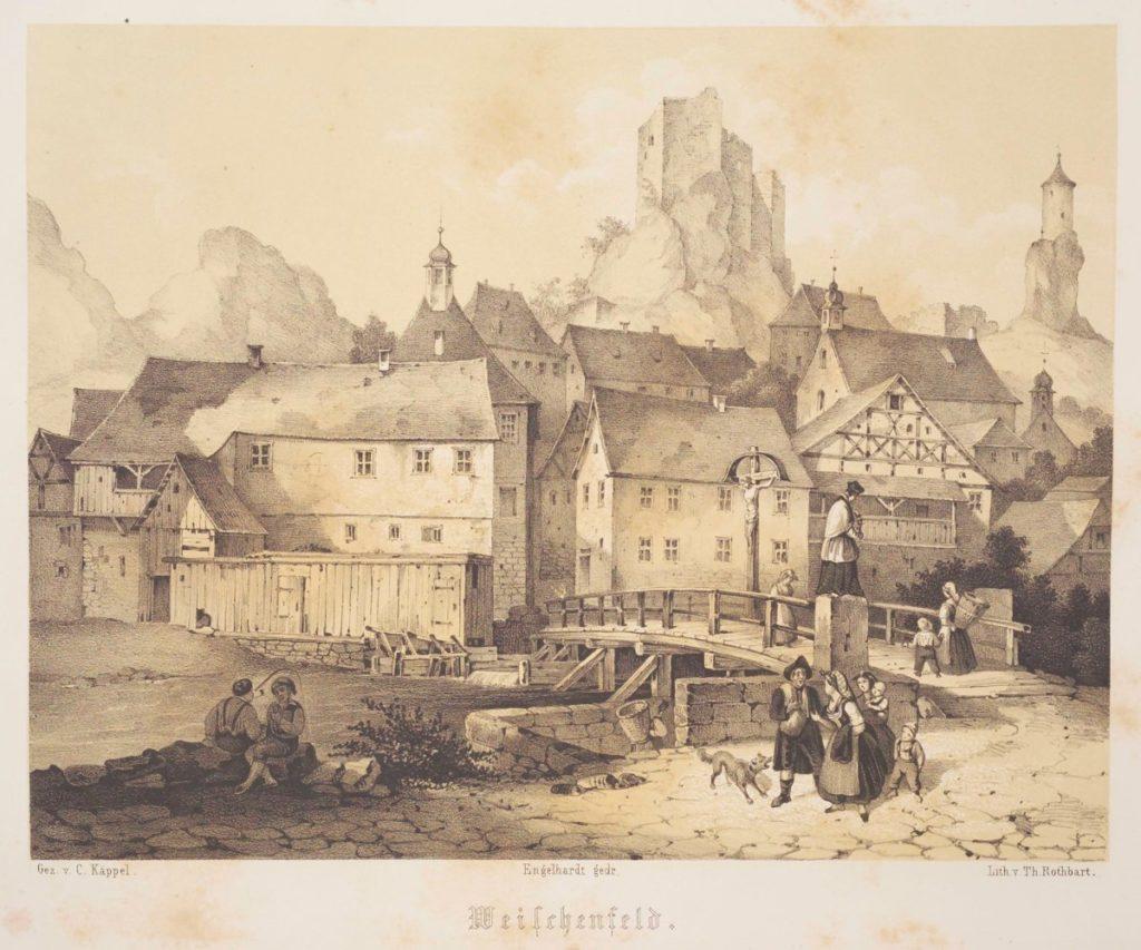 Waischenfeld um 1840