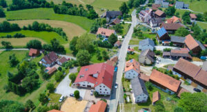 Saugendorf Luftbild